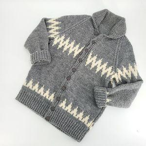 Hand-knit Unisex Cardigan